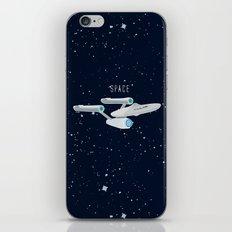 Startrek Star ship Enterprise NCC-1701 iPhone & iPod Skin