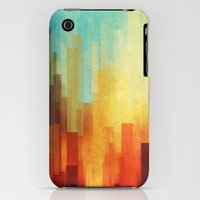 iPhone 3Gs & iPhone 3G Cases featuring Urban sunset by SensualPatterns