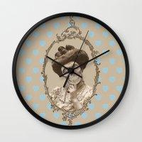 Madame Skull Wall Clock