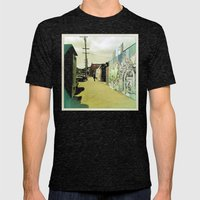 Fifteenth St. San Francisco Mens Fitted Tee Tri-Black SMALL