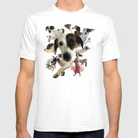 Lucy! Mens Fitted Tee White SMALL