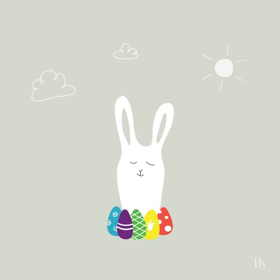 The Happy Easter Canvas Print