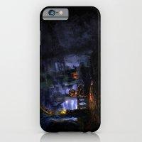 iPhone & iPod Case featuring Castlevania: Vampire Variations- Bridge by LightningArts