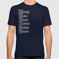 ARTIST Mens Fitted Tee Navy SMALL
