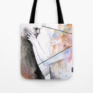 Two Different Lights Tote Bag