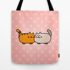 Romantic Cats Tote Bag