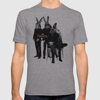 The Rabbitles Mens Fitted Tee Athletic Grey SMALL