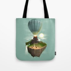 The Great Tropical Escape Tote Bag