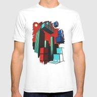 T-shirt featuring Tetroid Apocalypse by Remus Brailoiu