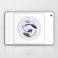 YIN AND YANG- CLEAR Laptop & iPad Skin