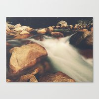 Tenaya Creek Canvas Print