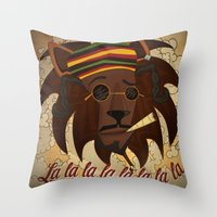 Snoop Lion Throw Pillow
