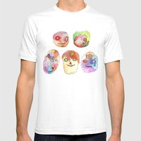 Mokoyombiz Mens Fitted Tee White SMALL