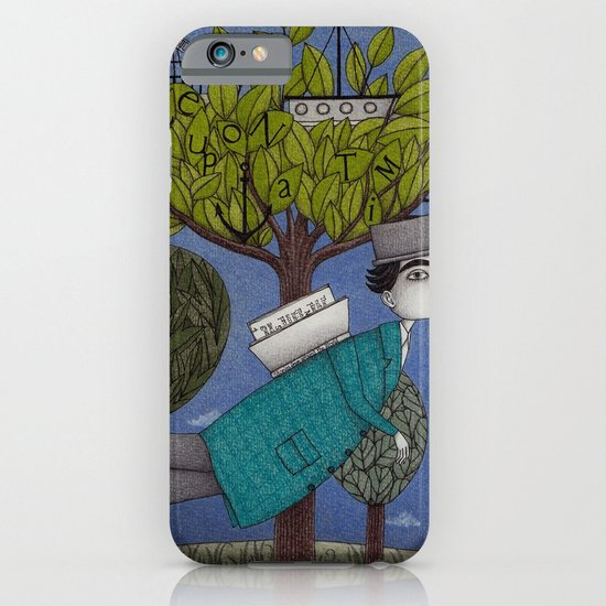 The Reading Tree iPhone & iPod Case