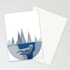 Polar Bear Dome Stationery Cards