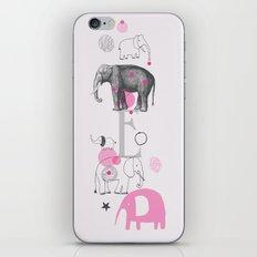 Elephants Circus iPhone & iPod Skin