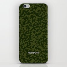 Comp Camouflage / Green iPhone & iPod Skin