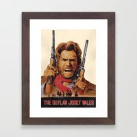 The Outlaw Josey Wales II Framed Art Print