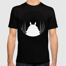 Noche  Mens Fitted Tee SMALL Black