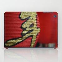 Red Chinese Lanterns iPad Case