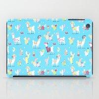 Alpaca Pattern iPad Case