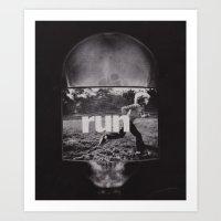 R U N (ANALOG Zine) Art Print