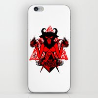 Blackmagic.red iPhone & iPod Skin