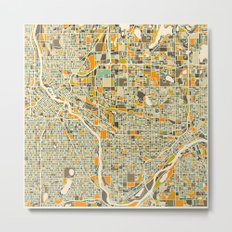 Twin Cities MAP Metal Print