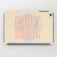 Craft Magic // Coral iPad Case