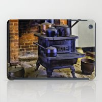 Wood Stove (Painted) iPad Case