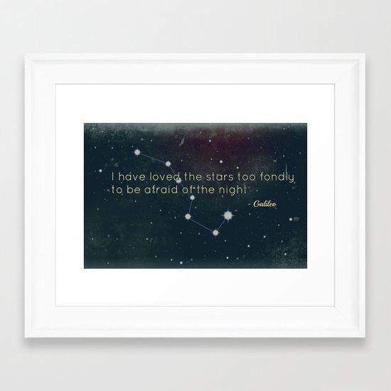 Galileo Framed Art Print