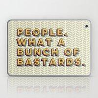 Bastards Laptop & iPad Skin