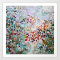 Constellation Darts  Art Print