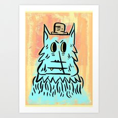 Wolf man!  Art Print
