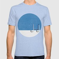 Summer Is Ready! Mens Fitted Tee Tri-Blue SMALL