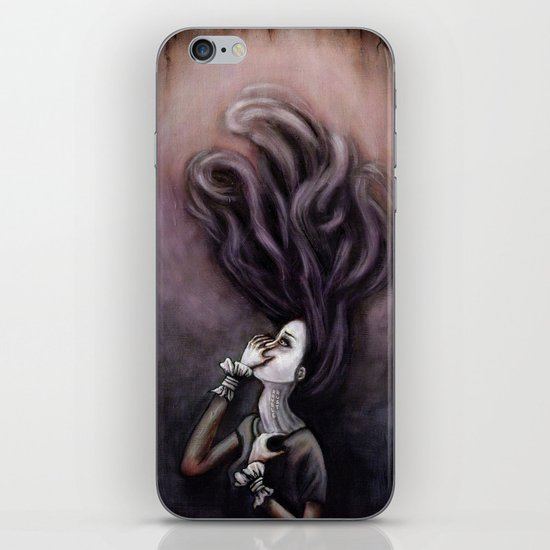 On the Wrong Side iPhone & iPod Skin