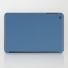 Navy Spotty Pattern Design iPad Case