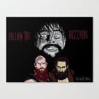 WWE - The Wyatt Family Canvas Print