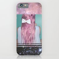 iPhone & iPod Case featuring Nebula Girl by Valerie Bee