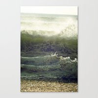 Liquid Fury Canvas Print