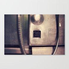 Pay Phone VI Canvas Print