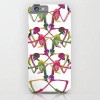 Running Skeleton with Banana n Gun iPhone 6 Slim Case