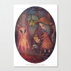 The Conjuration Of Bodhi Canvas Print