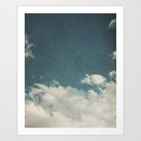 Clouds 025 Art Print