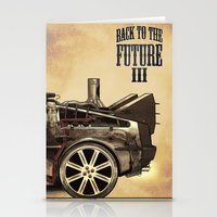 Back to the future III Stationery Cards