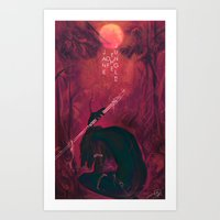 Jane Of The Jungle  Art Print