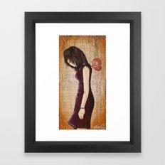 Careless Lazy Lover 1 Framed Art Print