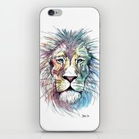 Technicolor Cat iPhone & iPod Skin