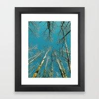 Symmetree Framed Art Print