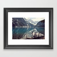 Fallen, But Not Forever Framed Art Print
